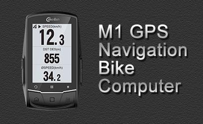 Ciclocomputer cu GPS Meilan M1
